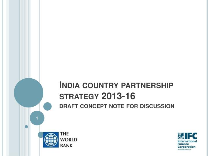 india country partnership strategy 2013 16 draft concept note for discussion n.