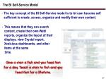 the bi self service model