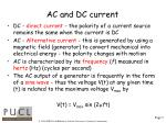 ac and dc current