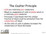the coulter principle