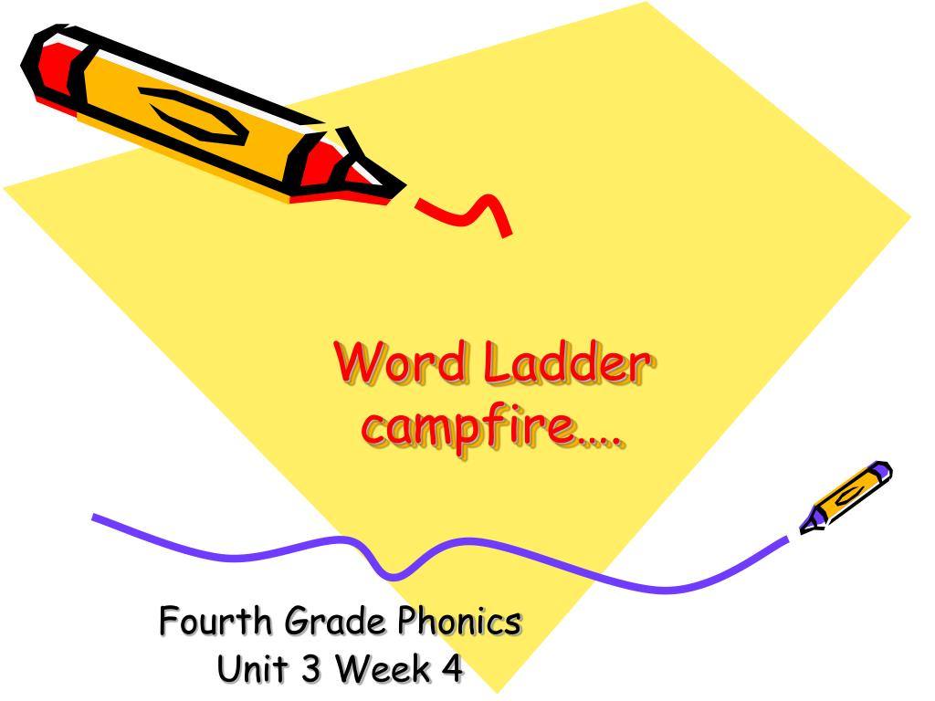 word ladder campfire l.