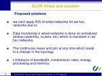 olsr threat and solution4