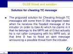 olsr threat and solution6