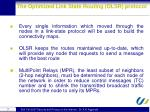 the optimized link state routing olsr protocol1