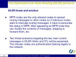 the optimized link state routing olsr protocol6