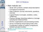 ddi 3 0 modules