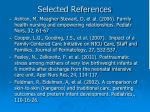 selected references