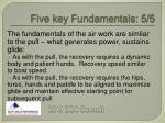 five key fundamentals 5 5