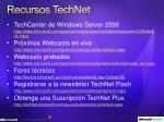 recursos technet