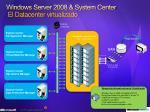 windows server 2008 system center el datacenter virtualizado