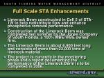 full scale sta enhancements