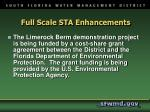 full scale sta enhancements1