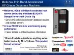 mellanox infiniband accelerated hp oracle database machine
