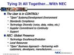 tying it all together with nec2