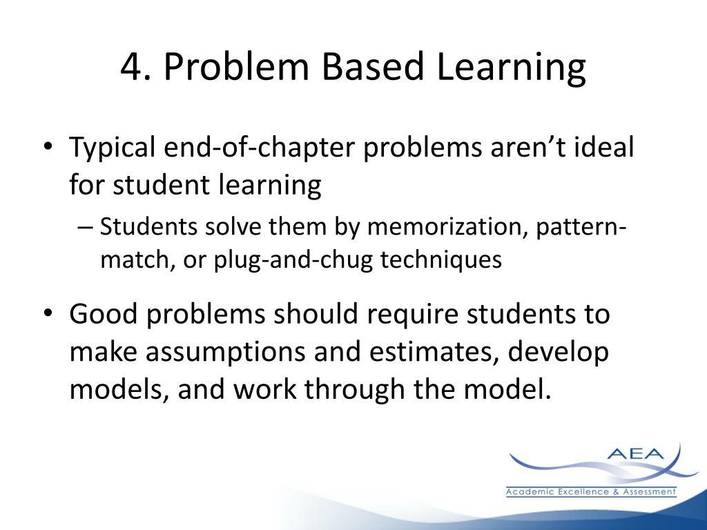 4. Problem Based Learning