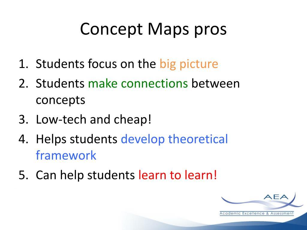 Concept Maps pros