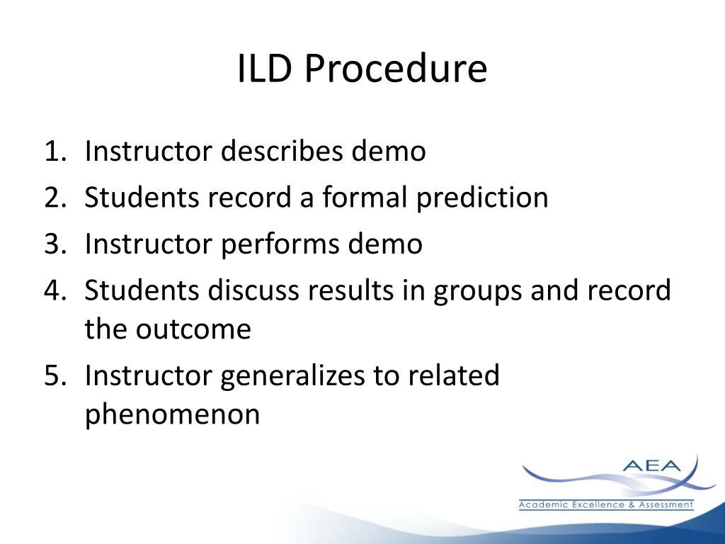 ILD Procedure