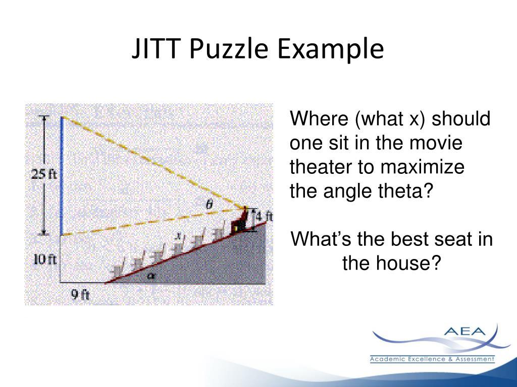 JITT Puzzle Example