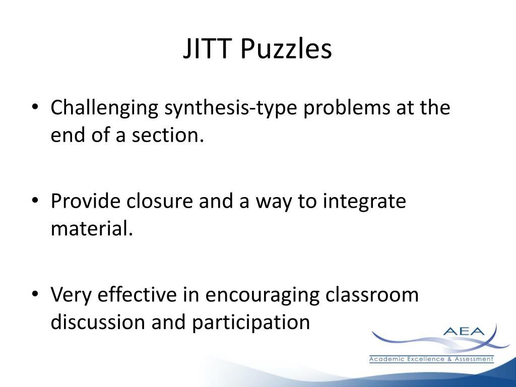 JITT Puzzles