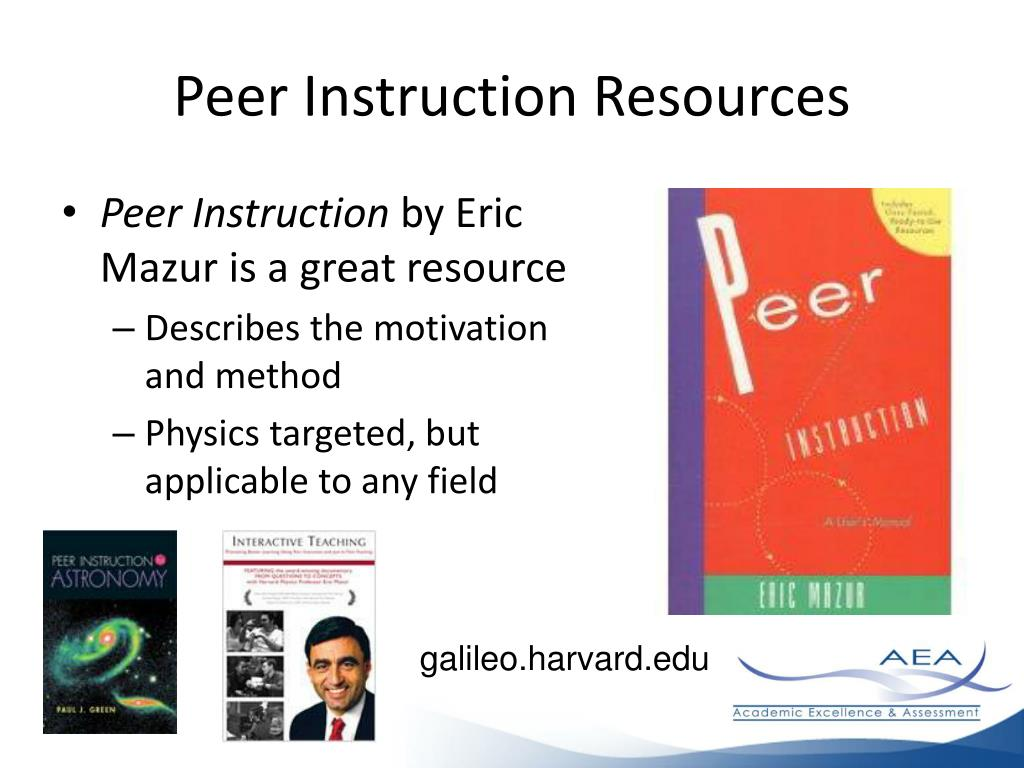 Peer Instruction Resources