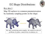 d2 shape distributions