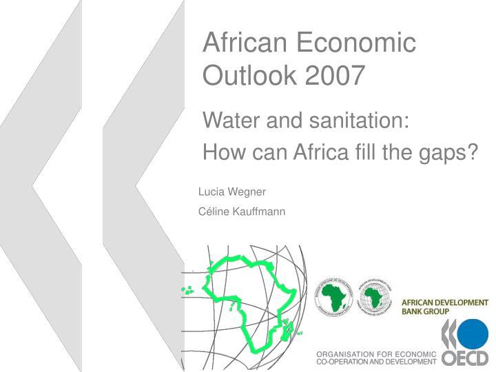 african economic outlook 2007 n.