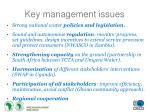 key management issues