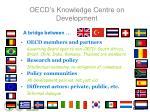 oecd s knowledge centre on development