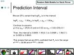 prediction interval1