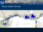 marine debris density