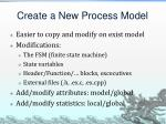 create a new process model