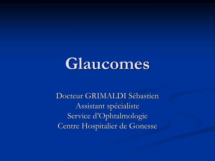 glaucomes n.