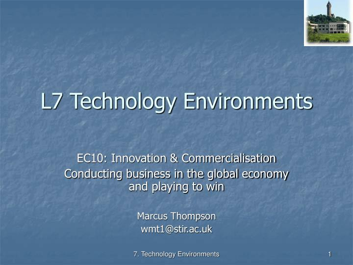 l7 technology environments n.