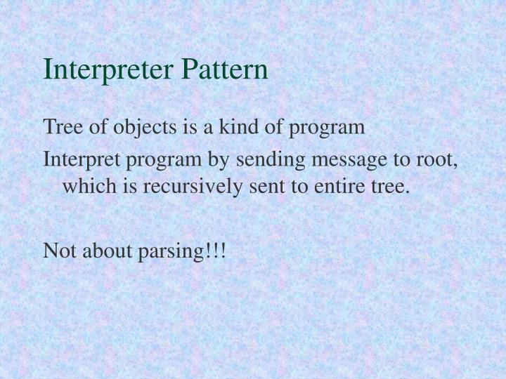Interpreter Pattern