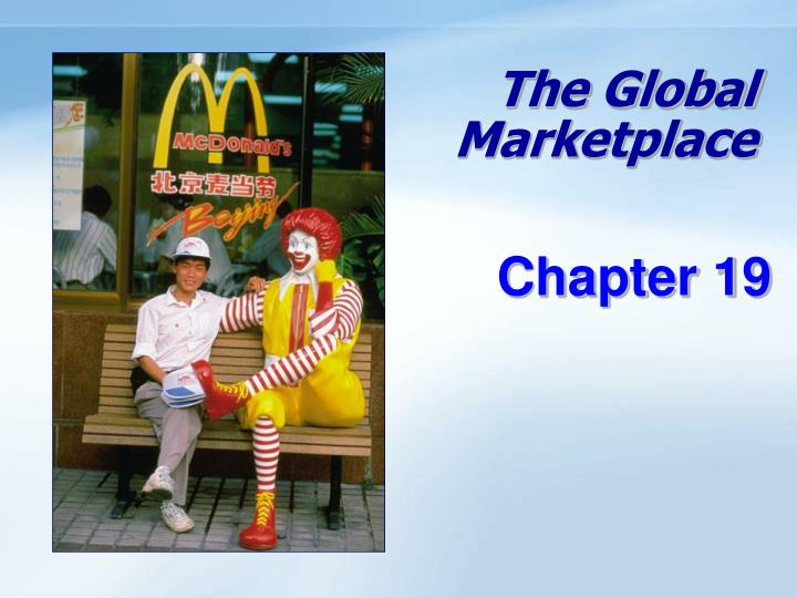 the global marketplace n.