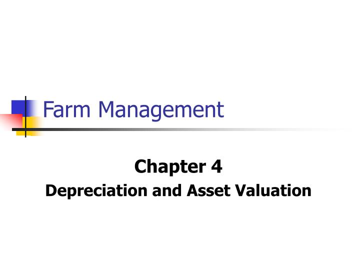 farm management n.
