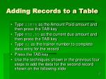 adding records to a table1