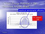 3 wind energy potential in the northeast region brazil