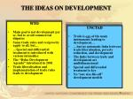 the ideas on development