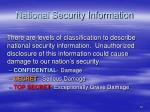 national security information1