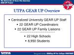 utpa gear up overview