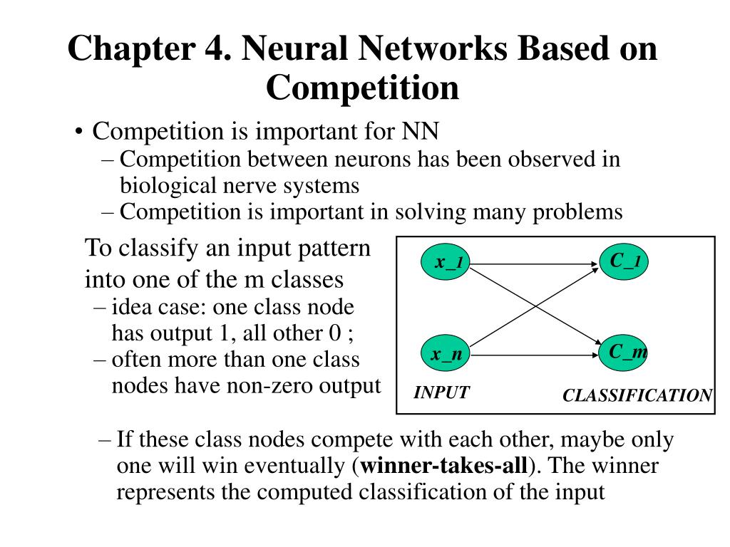 chapter 4 neural networks based on competition l.