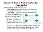 chapter 4 neural networks based on competition