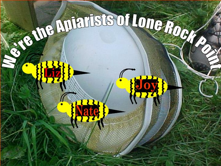 We're the Apiarists of Lone Rock Point