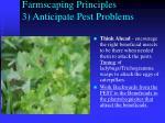 farmscaping principles 3 anticipate pest problems