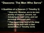 deacons the men who serve13