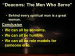 deacons the men who serve18