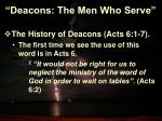deacons the men who serve3