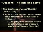 deacons the men who serve5