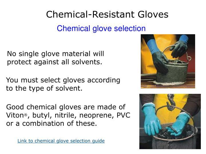 Chemical-Resistant Gloves